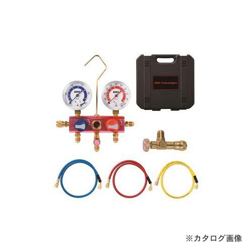 BBK R410Aコントロールバルブ付マニホールドキット チャージングホース150cm仕様 410-FMKK-60 (203-3007)