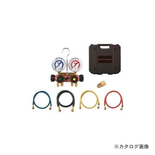 BBK R410A 4バルブマニホールドキット チャージングホース150cm仕様 4410-CMK-60 (203-1223)