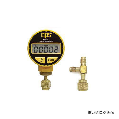 BBK バキュームゲージ(新冷媒用アダプター付) VG-200R (208-0114)