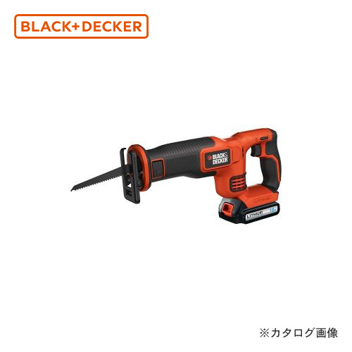 ブラックアンドデッカー BLACK&DECKER 18Vコードレスレシプロソー EXR18-JP 589052