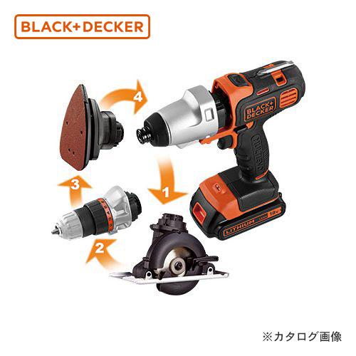 ブラックアンドデッカー BLACK&DECKER EVO 18Vマルチツール プラス EVO183P1- JP 589081
