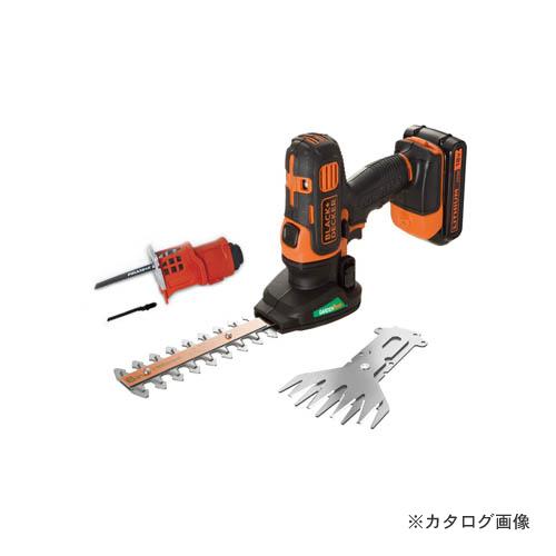 ブラックアンドデッカー BLACK&DECKER 18V2.0Ah コードレス ガーデンエボ GEVO183N-JP 19800 589960