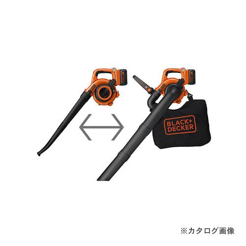 ブラックアンドデッカー BLACK&DECKER 36V2.0Ah コードレス ガーデンブロワーバキューム GWC36N-JP 29800 589961