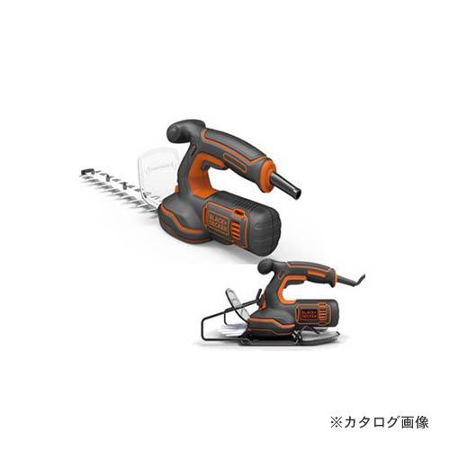 ブラックアンドデッカー BLACK&DECKER 2in1ヘッジ&芝生バリカン GSH1000-JP 14800 589964