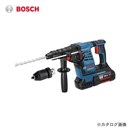 【数量限定特価】ボッシュ BOSCH GBH36VF-PLUS 36V 4.0Ah バッテリーハンマードリル(SDSプラスシャンク)【BOSCH手袋付】