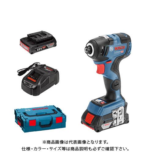 【お買い得】ボッシュ BOSCH コードレスインパクトドライバー GDR18V-200C3型 (3.0Ahバッテリ2個・充電器・ケース[L-BOXX136]付)