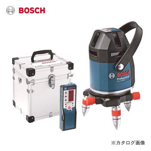ボッシュ BOSCH GLL8-40ELR レーザー墨出し器(アルミ製キャリングケース・受光器付)