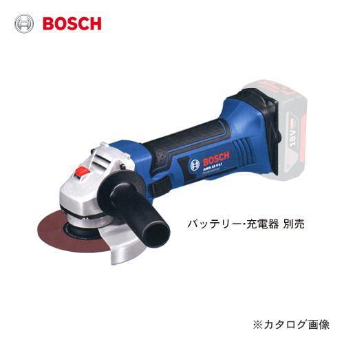 【数量限定特価】ボッシュ BOSCH GWS18V-LINH 18V バッテリーディスクグラインダー 本体のみ
