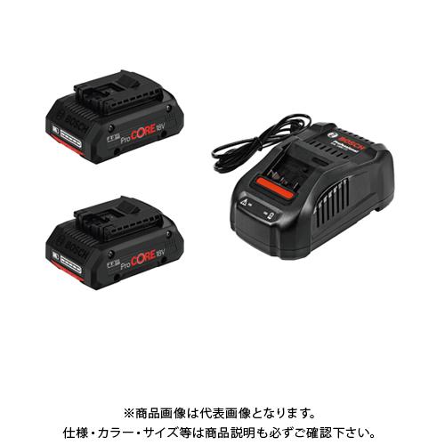 【お買い得】ボッシュ BOSCH バッテリー充電器セット(ProCORE18V4.0×2個、GAL1880CV×1個) ProCORE18V4S2