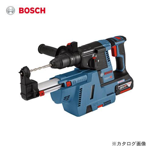 【数量限定特価】ボッシュ BOSCH コードレスハンマードリル GBH18V-26FGDE (6.0Ahバッテリー2個、充電器、クイックリリースキーレスチャック、キャリングケース、吸じんアダプターサイドハンドル、深さゲージ付)【BOSCH手袋付】