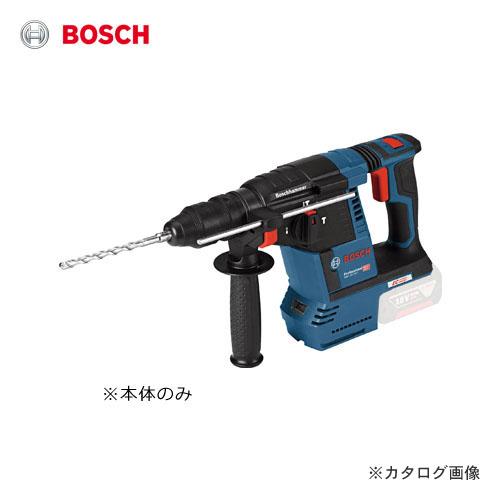 【セール】ボッシュ BOSCH コードレスハンマードリル(本体のみ) GBH18V-26FH クイックリリースキーレスチャック標準装備