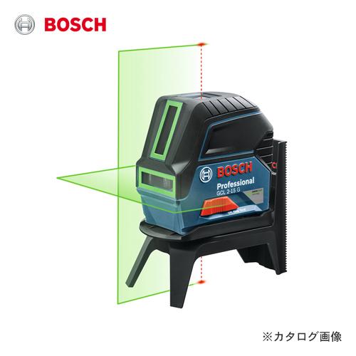 【特価販売中】ボッシュ BOSCH GCL2-15G レーザー墨出し器 (水平、垂直、鉛直、地墨)