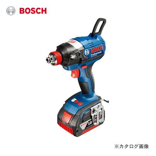 ボッシュ BOSCH コードレスインパクトドライバー GDX 18V-ECP6 6.0Ahバッテリー2個、充電器、キャリングケース付