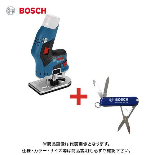 【おまけ付】ボッシュ BOSCH コードレストリマー(6mmφコレット)本体のみ GKF10.8V-8H