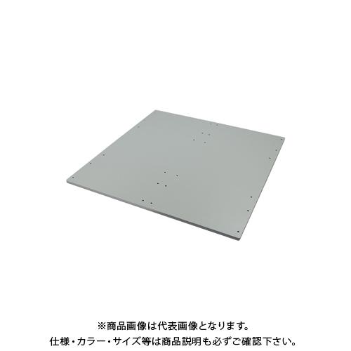 【受注生産品】【運賃見積り】【直送品】デンサン DENSAN バンキャビネット カルプラシリーズ 天板のみ IZ-PC-076T