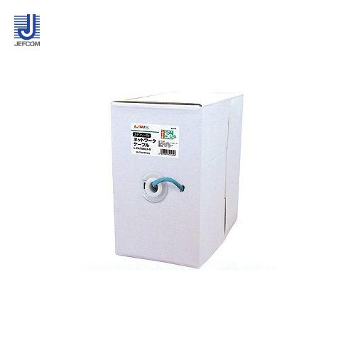 ジェフコム JEFCOM カテゴリー5eネットワークケーブル カテゴリー5e L-CAT5BOX-B