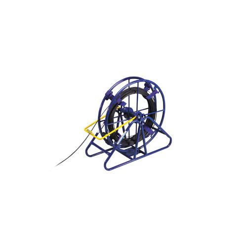 空転防止のブレーキ付きでガイドで作業効率アップ 【12月10日はストアポイント5倍!】デンサン DENSAN 光ファイバーケーブルリール LOR-480