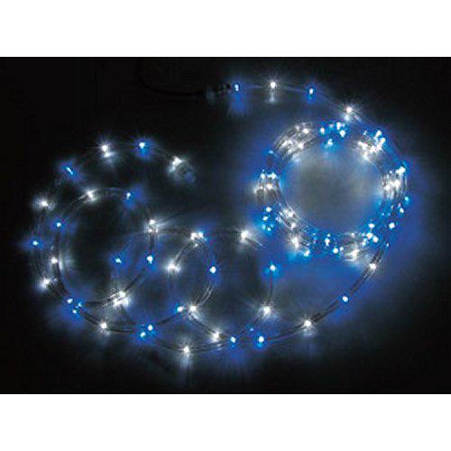 ジェフコム JEFCOM LEDソフトネオン ロッド 16m 青・白 PR3L-E24-16BW