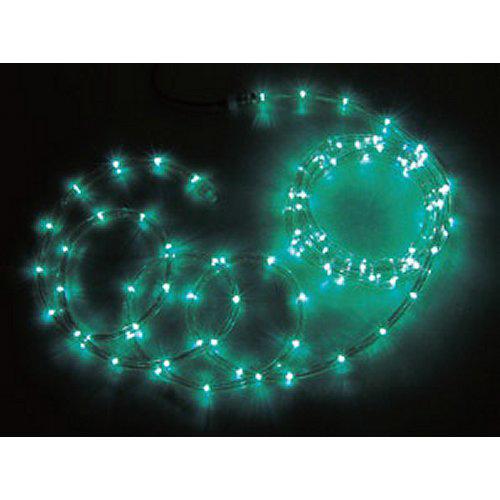 ジェフコム JEFCOM LEDソフトネオン ロッド 16m 緑・緑 PR3L-E24-16GG
