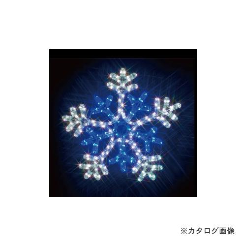 ジェフコム JEFCOM 雪の結晶(白・青) SJ-C103WB-JT