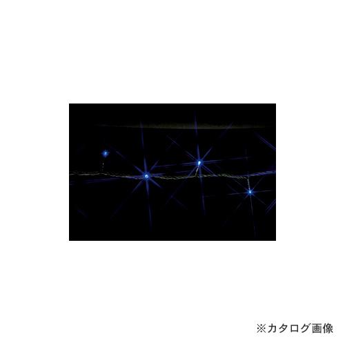 ジェフコム JEFCOM LEDストリングフォール10m(青・青) SJ-S05-10BB