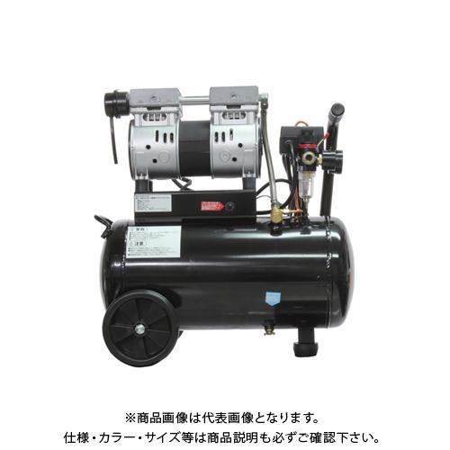 【運賃見積り】【直送品】ムサシトレイディング 静音オイルレスコンプレッサー 24L DZW024BK