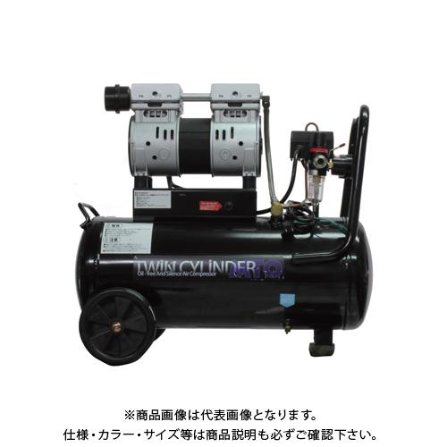 【運賃見積り】【直送品】ムサシトレイディング 静音オイルレスコンプレッサー 30L DZW030BK