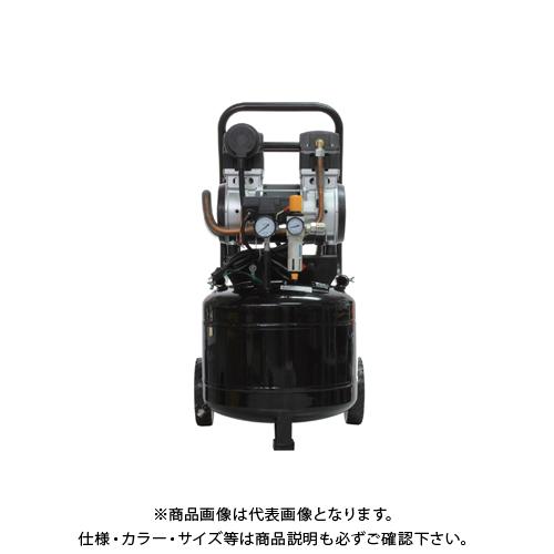 【運賃見積り】【直送品】ムサシトレイディング 静音オイルレスコンプレッサー 38L 縦型 DZW038TBK