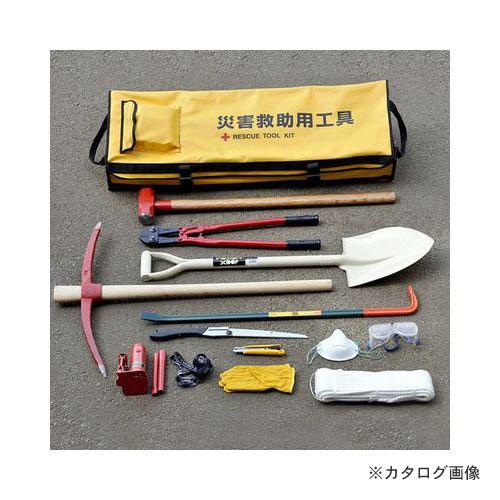 【個別送料1000円】【直送品】アイガーツール アイガー災害救助用セット21点 ERT21