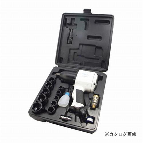 自動車のタイヤ交換 整備作業に 爆売り PAOCK エアインパクトレンチセット 年末年始大決算 AIM-530PA