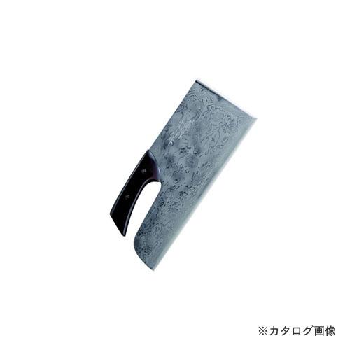 鍛冶宗匠光山作 積層別打麺切包丁 塗柄 A-1160
