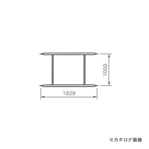 【運賃見積り】【直送品】 伊藤製作所 123 ローリング部材 布枠 1個 FH-1810Z