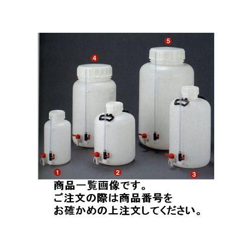 独特の素材 広口瓶ゲージ管付瓶 100L 瑞穂化成工業  mizuho KYS 0794:KanamonoYaSan-DIY・工具