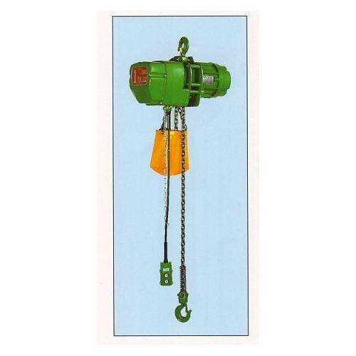 【直送品】二葉製作所 FH型 電気チェーンブロック(2点押ボタン式) 揚程3m 定格荷重1/2t