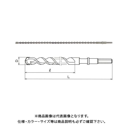 関西工具製作所 超ロング六角軸ハンマー・ドリルビット 25.0mm (D) x 1700mm (L) 1本 2100170250