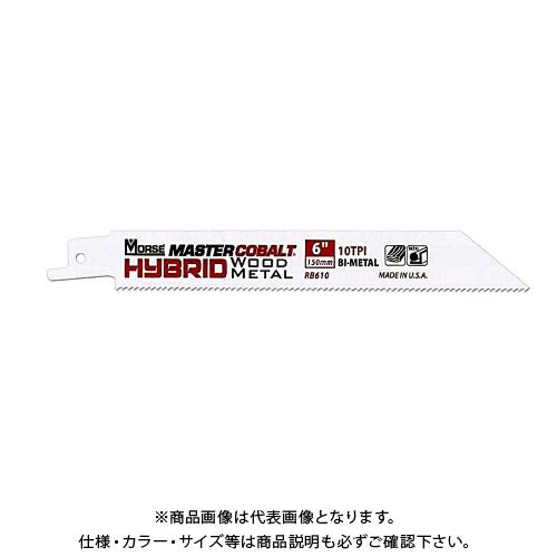 M.K. モールス マスターコバルト・ハイブリッド・バイメタル・セーバーソー・ブレード(木材・金属用)RB8501014T50