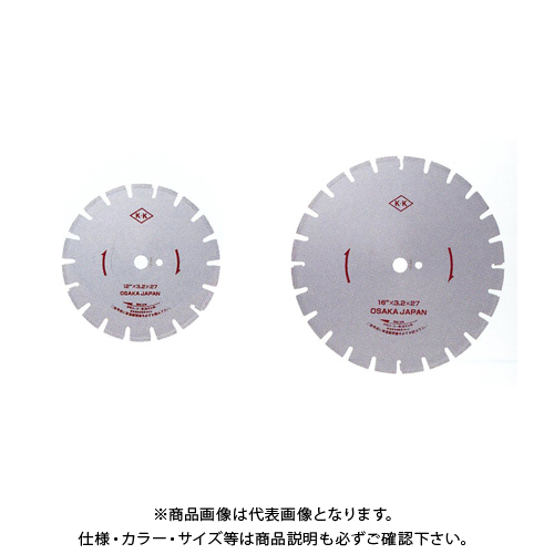 関西工具製作所 湿式ダイヤモンド・ブレード Wタイプ 16