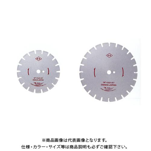 【20日限定!3エントリーでP16倍!】関西工具製作所 湿式ダイヤモンド・ブレード Wタイプ 18