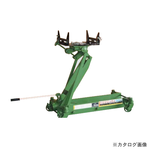 【直送品】【車上渡し】長崎ジャッキ ミッションジャッキ 軽自動車~2トン車向け M-800