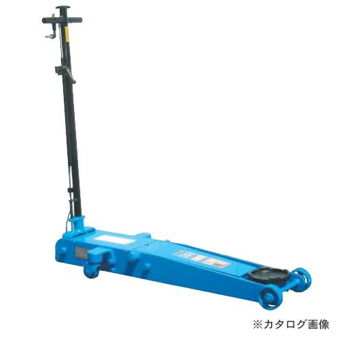 【直送品】【車上渡し】長崎ジャッキ 低床エアーガレージジャッキ ミドルタイプ NLA-1.8P