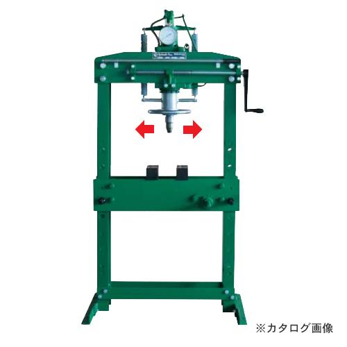 【直送品】【車上渡し】長崎ジャッキ 油圧プレス NSP-15
