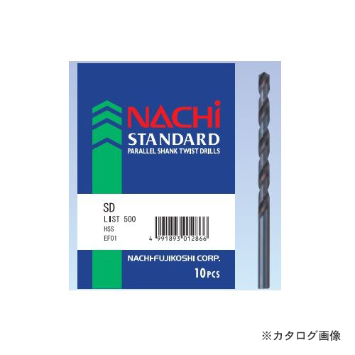 ナチ NACHI 鉄工用ストレートドリル 11.6mm 5本入 SD11.6