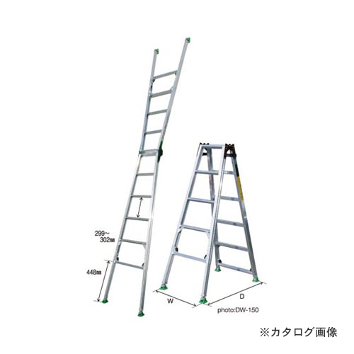 【直送品】ナカオ ピッチ(階段用) DW-180
