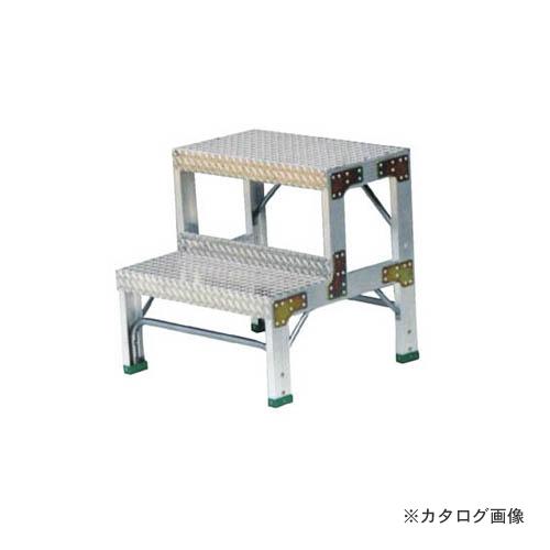 【直送品】ナカオ G 作業用踏台 G-062