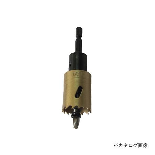 ツバ取り仕様 シャンク径:六角軸6.35mm ウイニングボア バイメタルカッター 海外輸入 売れ筋 BCTL-28 刃先径φ28mm