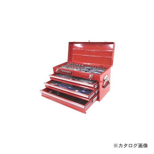 完璧 メカニックツールセット:KanamonoYaSan KYS 59PCS 3/8DR SIGNET シグネット 800S-59RE -DIY・工具