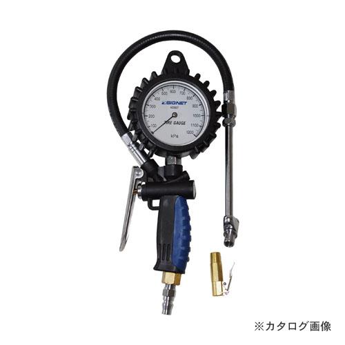 シグネット SIGNET 46967 増減圧機能付タイヤゲージ 0-1200KPA