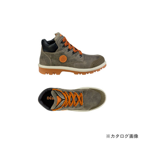 ダイケ DIKE 21021-414-38 作業靴ディガーグレー25.5cm