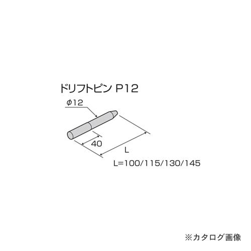 栗山百造 ドリフトピン 100個 P12×100
