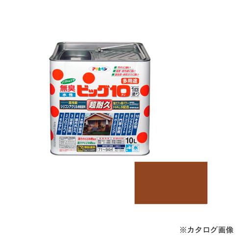 アサヒペン AP 水性ビッグ10多用途 10L 232カーキー色